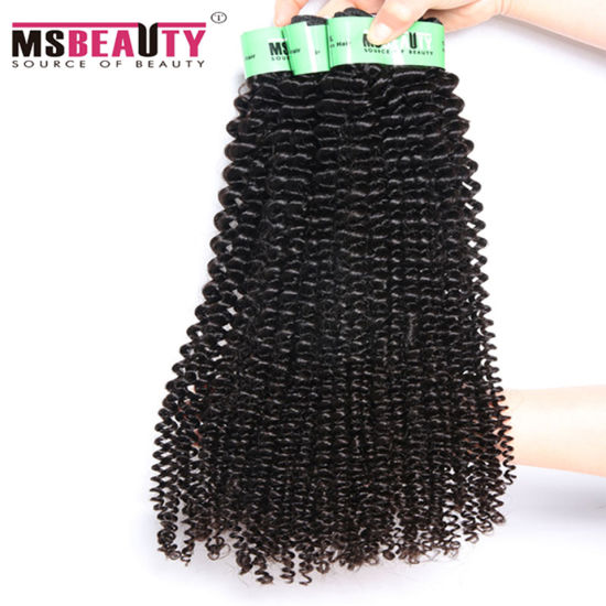 No Chemical Process Brazilian Virgin Hair Kinky Curly pictures & photos