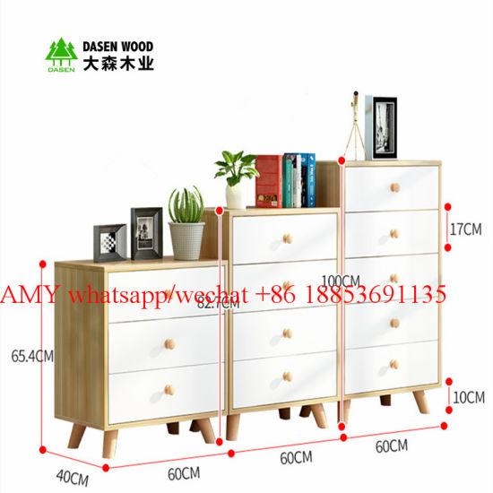 Modern Chipboard Panel Filing Cabinet Wood File Cabinet