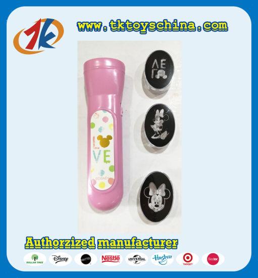 Kids Funny Plastic Mini Light Torch Toy for Kids