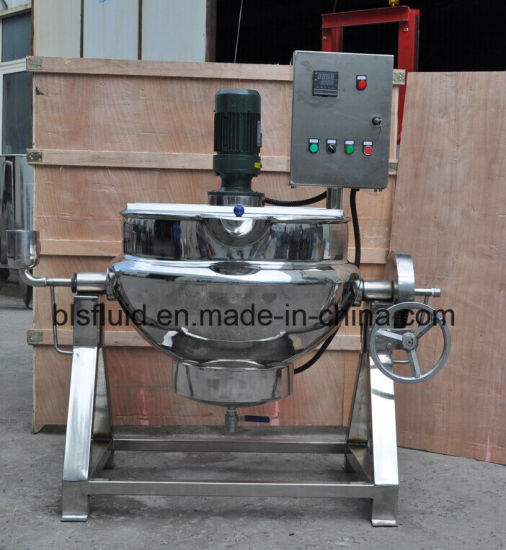 Electric Heating Jacketed Kettle with Mixer pictures & photos