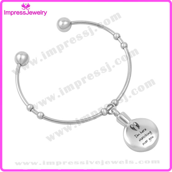 Bracelet Manchette Pulseiras Feminina Stainless Steel Bangles Memorial Jewelry pictures & photos