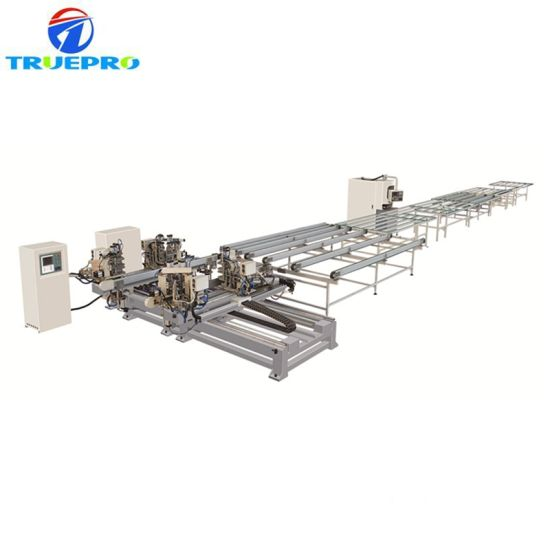 Welding and Cleaning Line for PVC Doors and Windows