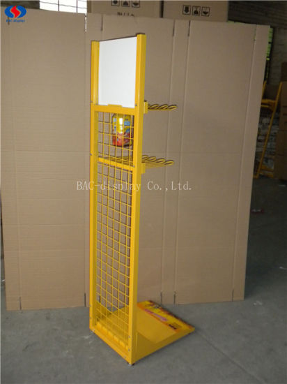 Retail Store Metal Beverage Display Racks / Drink Display Stand / Juice Display Shelf pictures & photos
