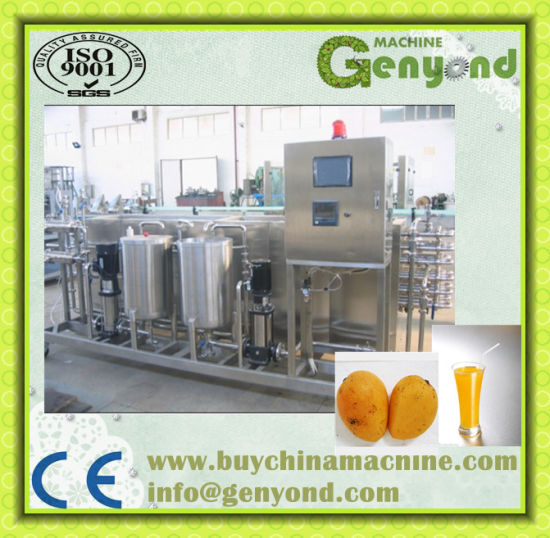 Full Aotumatic Mango Juice Processing Machine pictures & photos