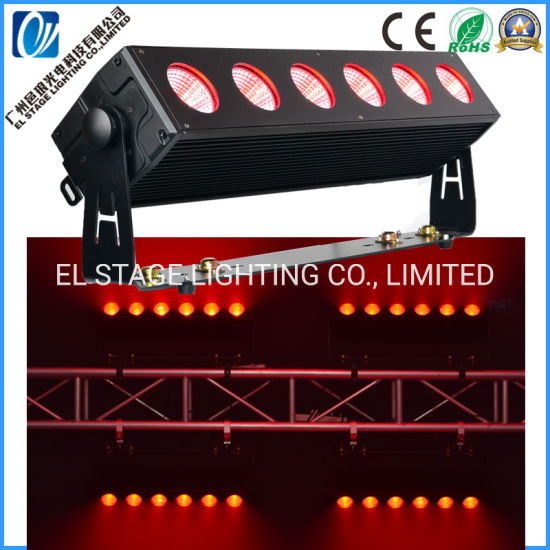 Waterproof LED Wash Light for Blinder with 6PCS 40W 3in1 RGB LED Chip for Stage Lighting