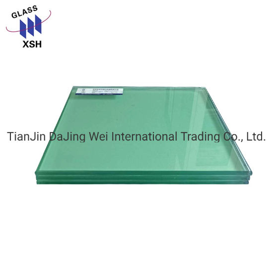 High Quality Safety Products Bulletproof Clear Laminated Glass for Windows