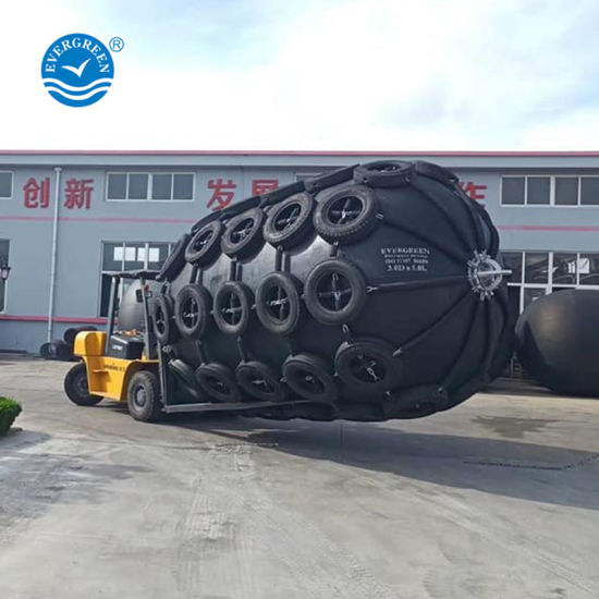 China 50kpa 80kpa D2 0XL4 0m Pneumatic Rubber Fenders with