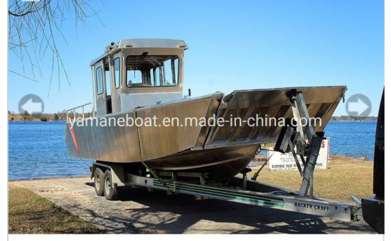 9m Aluminum Landing Craft Factory Supply Boat