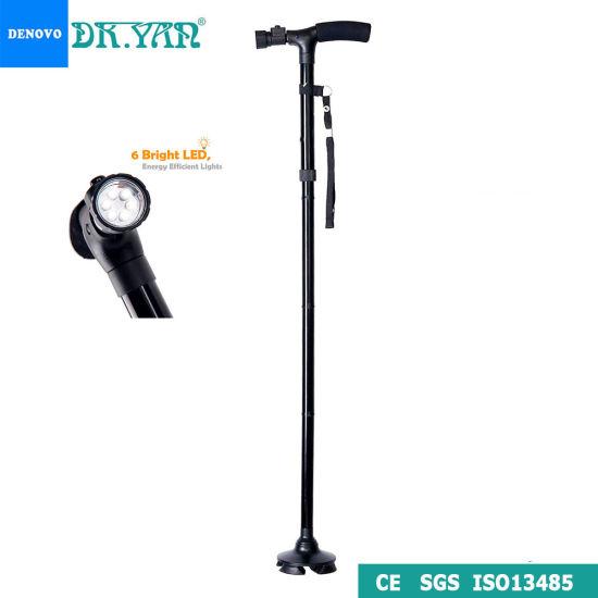 WALKING STICK FOLDING FOLDABLE ADJUSTABLE HAND STRAP LIGHT WEIGHT GOOD QUALITY B