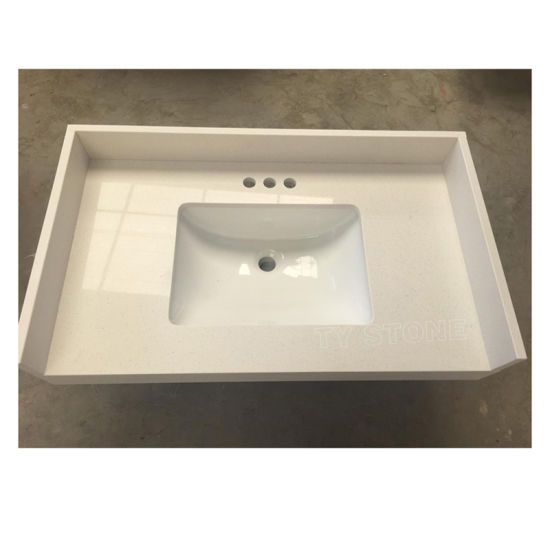 Artificial Quartz Stone Countertops for Kitchen and Bathroom