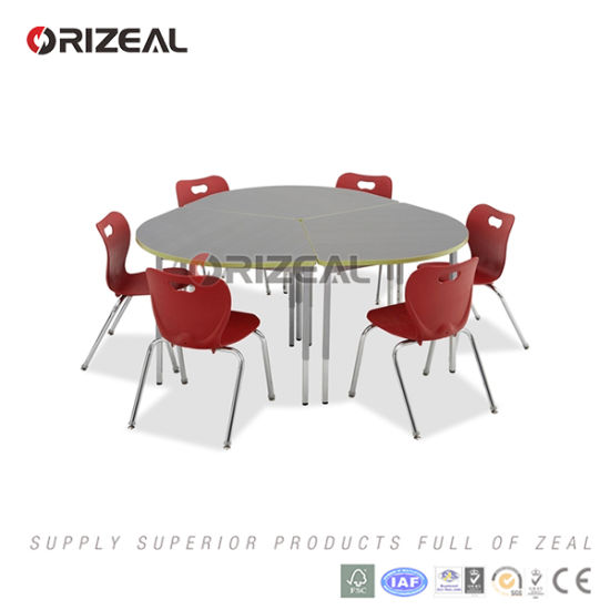Europen Modern Interactive Table and Plastic Chair About Collaborative School Furniture pictures & photos