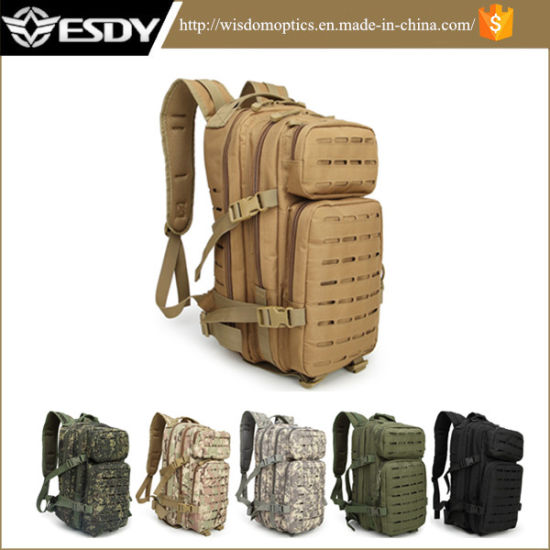 7275eb745eca Outdoor Sports Army Bag Laser-Cut Hunting Hiking Tactical Military Backpack
