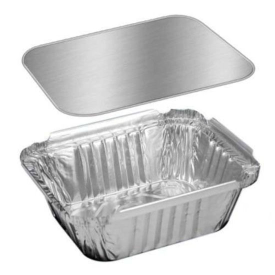 Aluminum Foil Food Container Board Lid