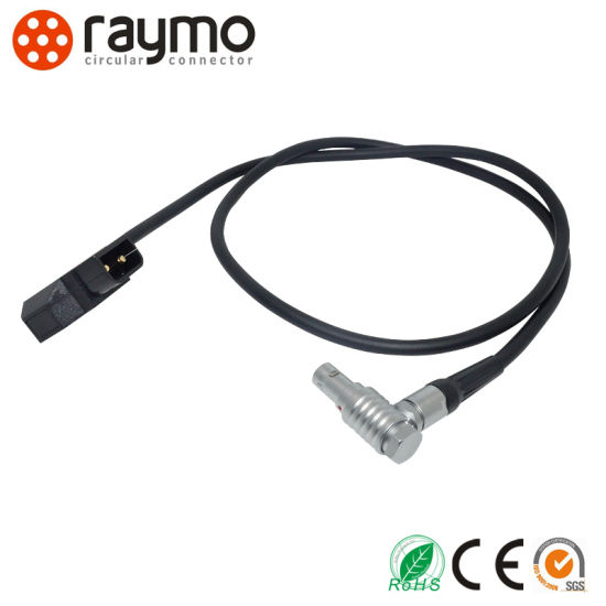 Raymo 2b Series Fhg Elbow 90 Degree Plug 2pin 3pin 4pin 8pin 16pin 26pin Push Pull Cable Connector