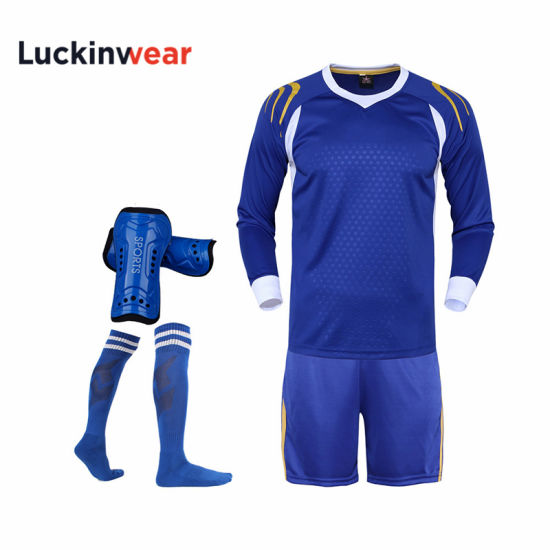 Hot Sale Custom Soccer Training Shirt for Team Men Soccer Wholesale Sublimation Jerseys pictures & photos