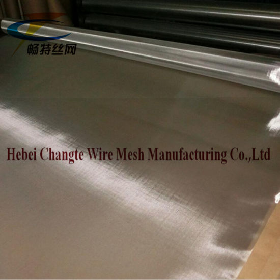 180 Mesh Plain Weave Stainless Steel Wire Mesh