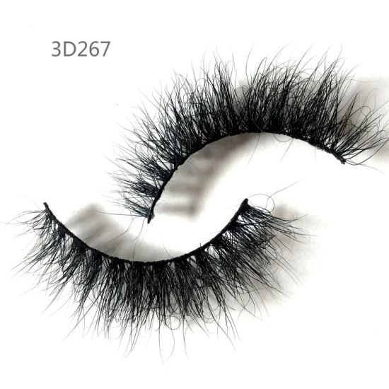 Factory Wholesale ODM/OEM Hand-Made 3D High Quality Really Mink Eyelashes