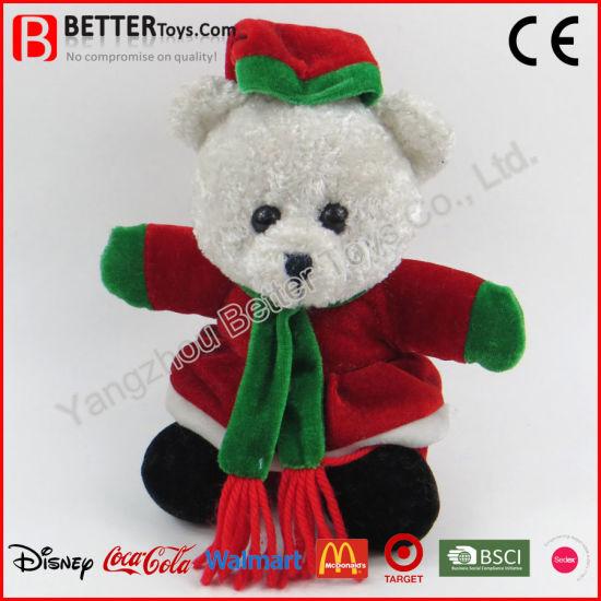 Christmas Gift Teddy Bear Doll Wholesale Soft Plush Toy for Children Kids Baby