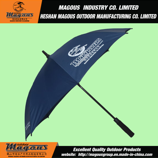 Straight Full Fiberglass Rain Umbrella pictures & photos