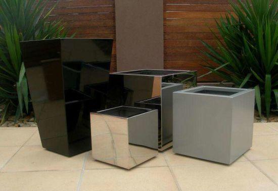 Flower Pot for Home Garden/Large Planter Box/Metal Flower Planter