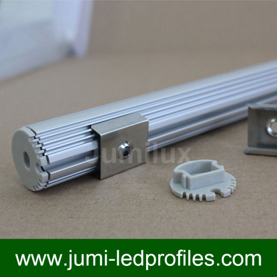 Round LED Aluminum Profile for LED Strips pictures & photos