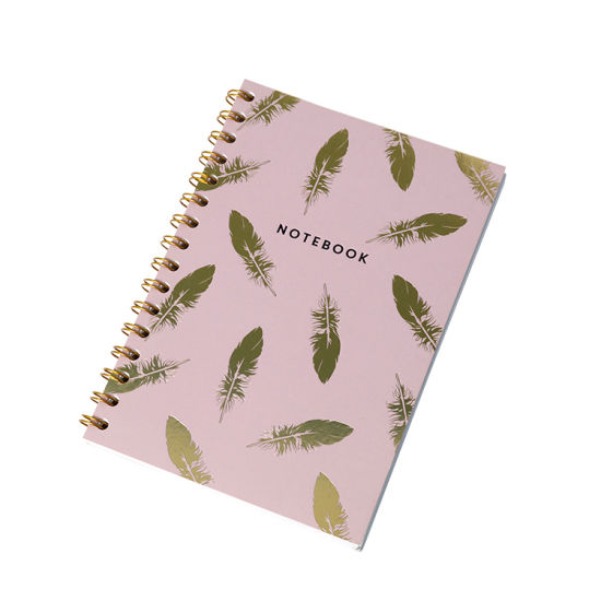 Wholesale Cheap Price Custom Promotion Double Line Spiral Wire Notebook