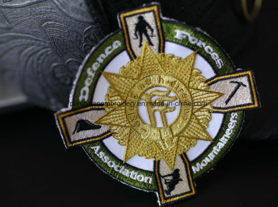 3D High Quality Custom Embroidery Patch&Badge by Fabric