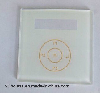 Luxurous White Crystal Glass Switch Touch Panel pictures & photos