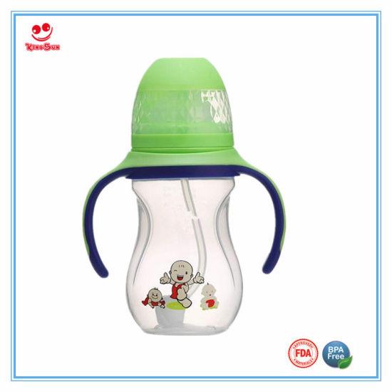 China New Items Personalized Wide Neck Cartoon Animal Baby Feeding Bottle China Baby Bottle And Milk Bottle Price