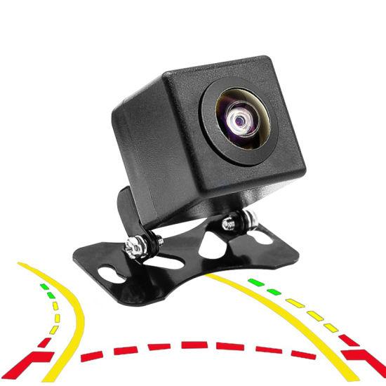 12V Universal HD Dynamic Trajectory Car Rearview Camera Back Up Parking Camera