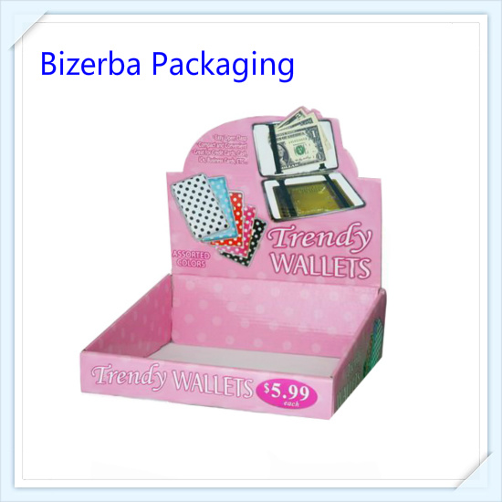 Promotion Custom Printing Corrugated Cosmetic Packaging Paper Display Box