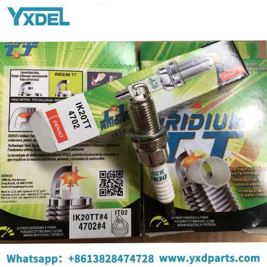 Big Quantity in Stock Iridium Tt Ikh20tt 4704 Denso Spark Plug for Cross