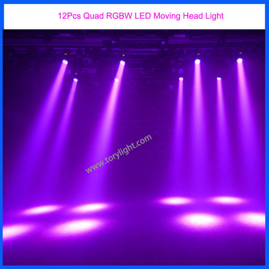 Osram Audio Light 12PCS LED Moving Head Party/DJ/Event Lighting pictures & photos