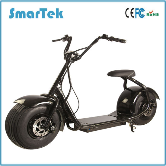 Smartek 800W Harley Scooter Gyropode Electrique Golf Escooter Citicoco Scooter Electric Fashion Razor Harley Motorbicycle
