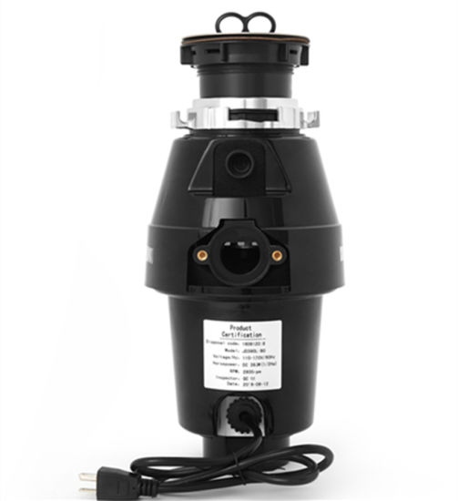 Hot Sale DC Motor 220V, 50Hz Food Waste Disposers pictures & photos