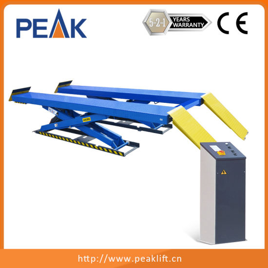 Professional Electric-Air Control Scissor Car Lift (PX09) pictures & photos