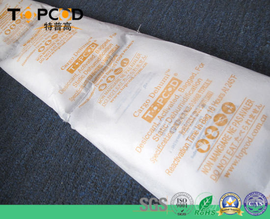 SGS 200%-300% Anti Moisture Calcium Chloride Container Desiccant Hanging Bag pictures & photos