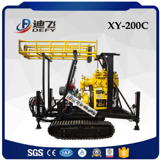 China Manufactures 200m Water Well Drilling Rig Machine