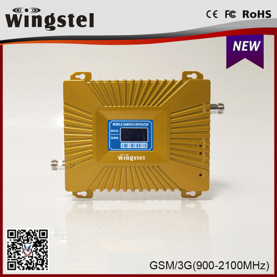 2018 Hot New Signal Booster Dual Band 2g 3G 4G Signal Amplifier for Home Use with Outdoor Antenna