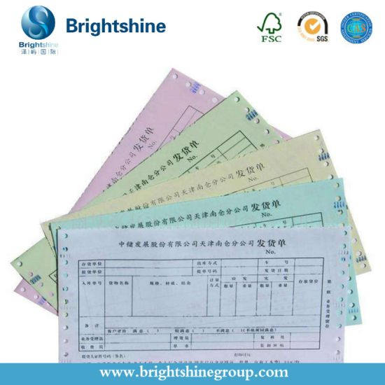China Carbonless /NCR Paper Factory for Receipt Paper
