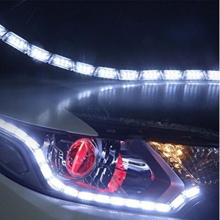 China car led strip lights bright flexible car led whiteamber car led strip lights bright flexible car led whiteamber daytime running light turn signal light mozeypictures Images