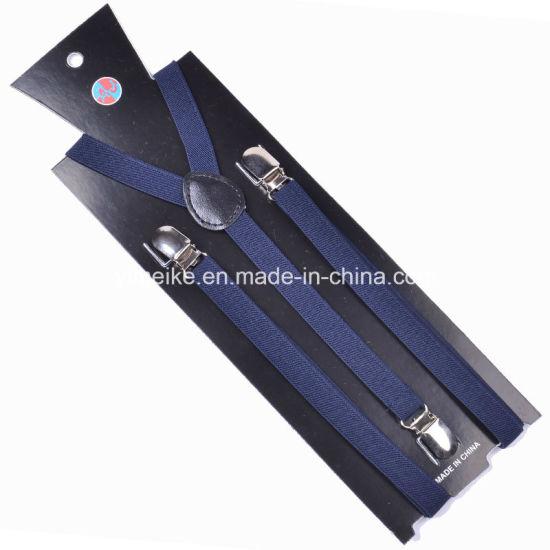 Factory Solid Color Skinny Suspender for Women 1.5cm (BD1018)