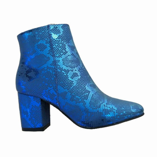 b432cfa11a0 Colorful Woman′s Bling Bling High Heeled Winter Boots pictures   photos
