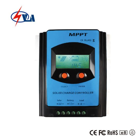 30A 12/24V Auto MPPT Solar Charge Controller with LCD Display