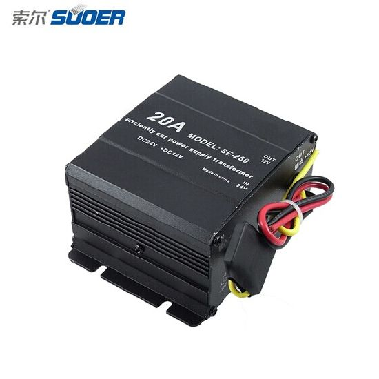 Suoer Power Converter DC 24V to 12V Power Supply Converter with High Quality (SE-260) pictures & photos