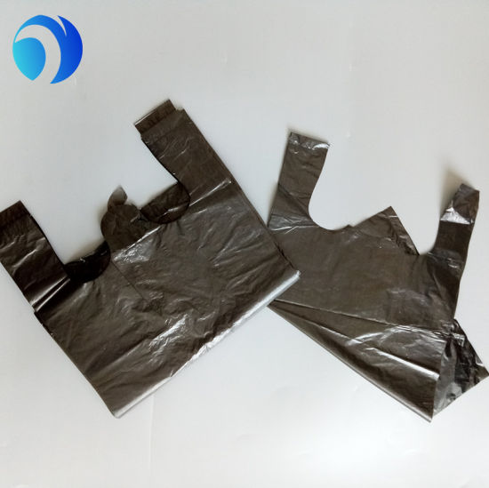 Factory Manufacturing Trash Blue Biodegradable Plastic Garbage Bag on Roll pictures & photos