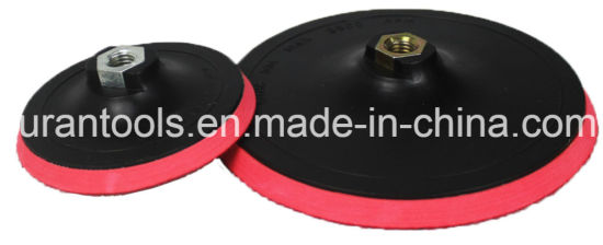 High Quality Red Velcro Backing Pad