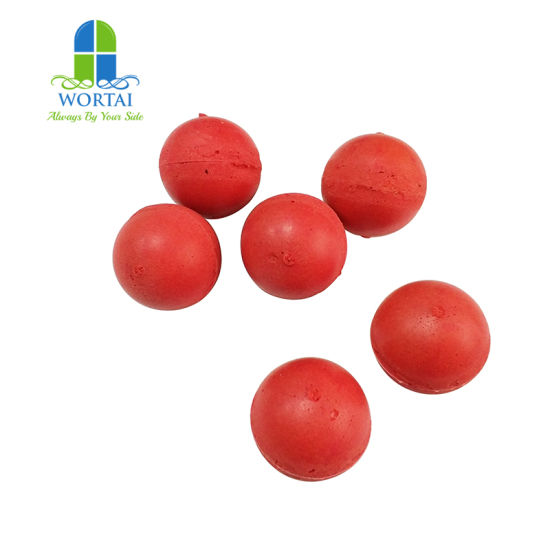 High Quality Power Plant Pipe Tube Cleaning Rubber Sponge Ball pictures & photos