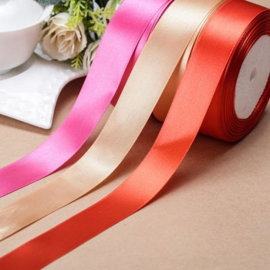 Popular More Color Choice Ribbon 2.5cm for DIY and Decoration