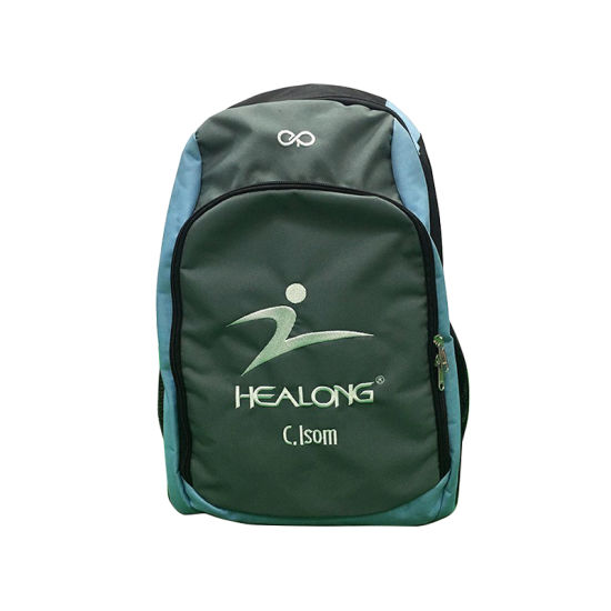 Healong Waterproof Nylon Training Embroidery Logo Backpack Bag pictures & photos